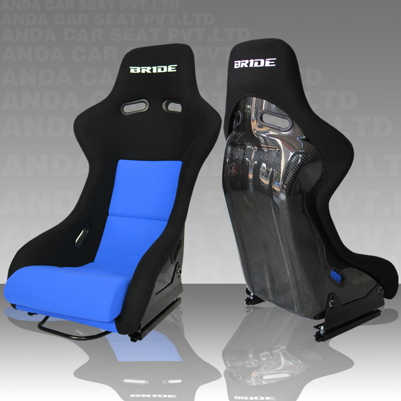 Blue Balck Light weight Carbon Fiber Bucket Seats/Sport Car Seats RAH