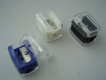 Promotional Cosmetic Pencil Sharpener with your logo on