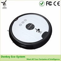 Donkey virtual wall robot vacuum cleaner with mopping function