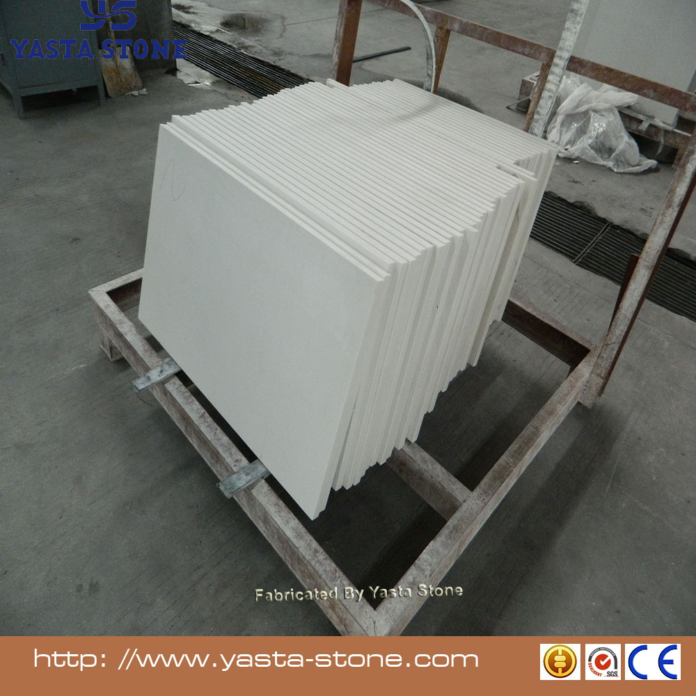 Yasta Good quality carrara white quartz stone kitchen floor tile