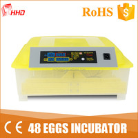 commercial chicken eggs hatchery equipments/48 chicken eggs incubator and hatcher