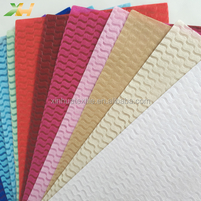100% virgin pp spunbond wave emboss nonwoven