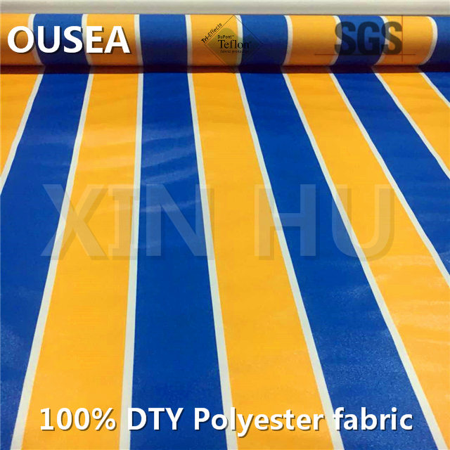Factory direct polyester fabric for boat awning roofing and covers