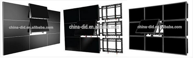 USENDA Digital Advertising 46 55 inch seemless 4K lcd video wall with Led backlight