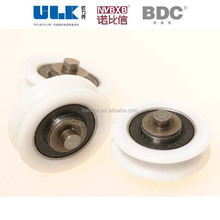 nylon bearing wheel sliding glass shower heavy duty door roller/wheel /pulley