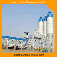 China supplier hzs40 concrete batching plant