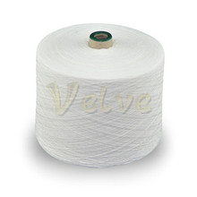 white polyester/cotton swing thread for quilt