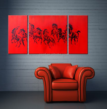 New Design Handmade abstract horse oil painting