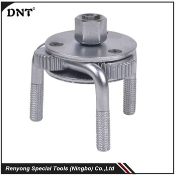 DN-A1006 SAE1045 Steel dropped forging Two Ways Oil Filter Wrench