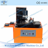 Electric bottle date code printing machine