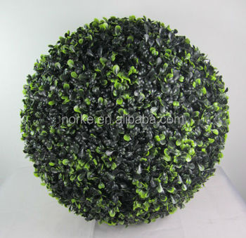 2014 New Style Plastic Artificial Buxus Ball