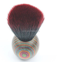 AIDEN- China amazon hot products national style color wood kabuki brush