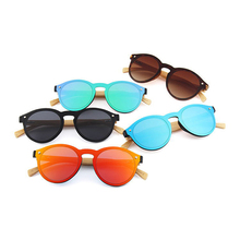 Newest promotion plastic wholesale bamboo wood china wooden sunglasses