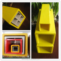 pultruded fiberglass square tube products