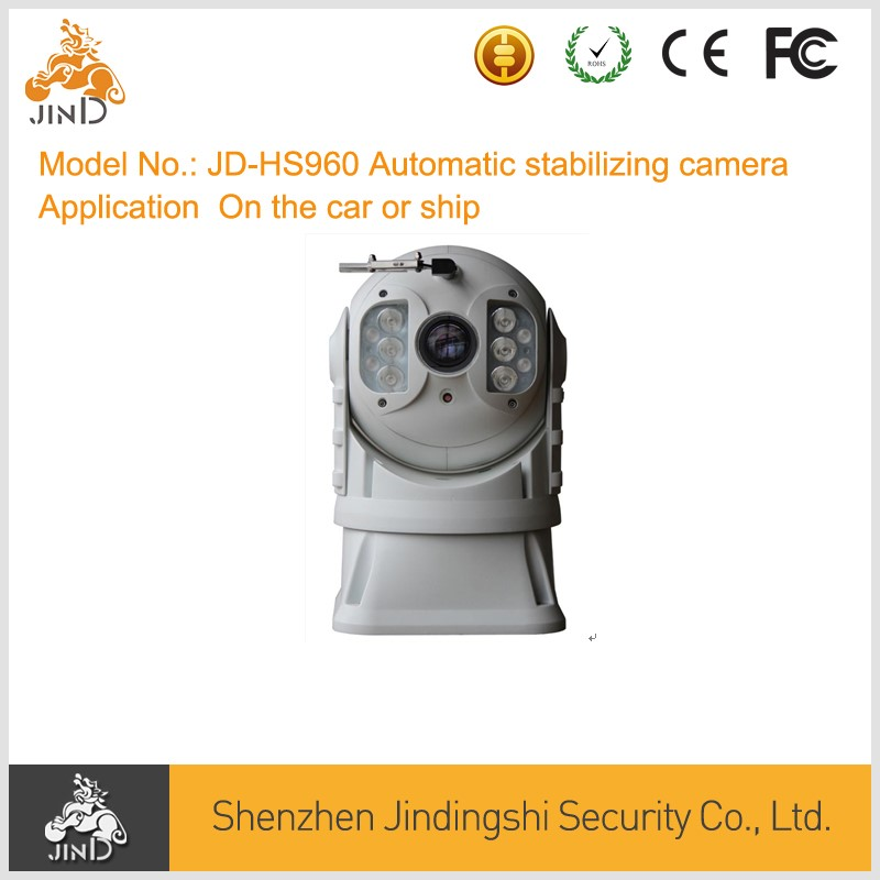 Newest Automatic stabilizing IP67 car ship DASH camera