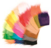Wholesale faux fur craft fur fly tying materials
