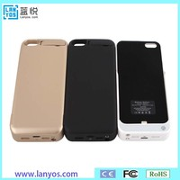 External backup charger power bank battery case for iphone5/5S