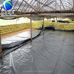 fish pond anti-seepage HDPE geomembrane