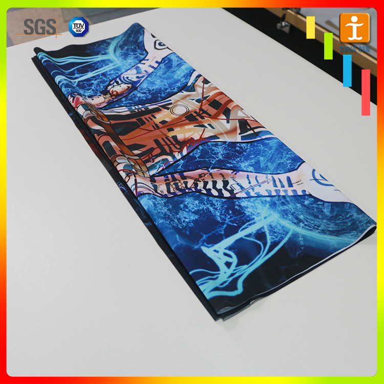 Eco Solvent Digital Printing Outdoor Art Canvas Flag