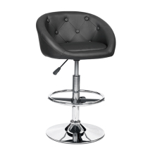 Hot Selling Good Quality Half Moon Bar High Chair Leather,Kitchen Bar Chair