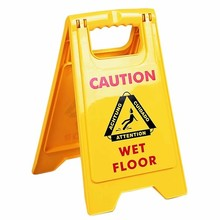16.5 inches Height Floor safety sign