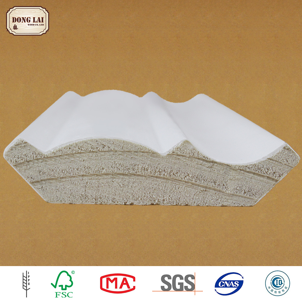High Quality white gesso primed finger Jointed Boards/Lvl/Laminated Wood Board