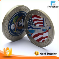 Factory Wholesale Good Service Single Cheap Custom Made Silver Coins