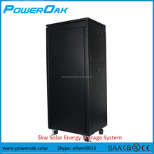 5kw solar home energy storage system with lithium battery and hybrid inverter