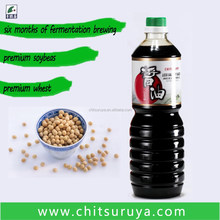 1L Chitsuruya Less Salt Soy Sauce in PET bottle OEM