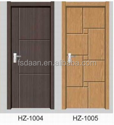 2014 hotel furniture pvc door wood vent for doors
