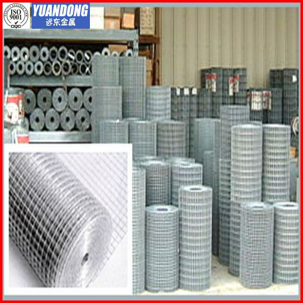 16 gauge galvanized welded wire mesh/galvanized Welded mesh(professional producer)