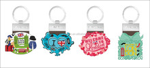 London souvenirs custom soft pvc keychain,keyring