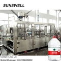 5L 10L bottle rinser/filler/capper bottling of mineral water for 5 liters bottle filling machine