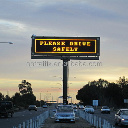 Variable Traffic Signs Electronic Digital Message Centers Smart City Pune Nagpur Bidding SMD DIP P8 P10 LED Display Screen board