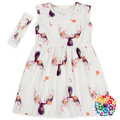 Boutique Baby Girl Maxi White Princess Sleeveless Dress Summer Casual Baby Girl Dresses