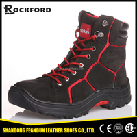 Breathable nubuck leather winter long boots for men FD6202