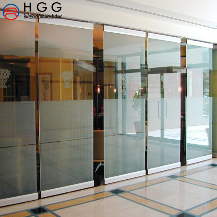 Tempered Glass tempered glass fence panels sliding glass room dividers