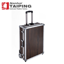 Sunrise Rolling Beauty Hairdresser Trolley Makeup Case With Light With Mirror