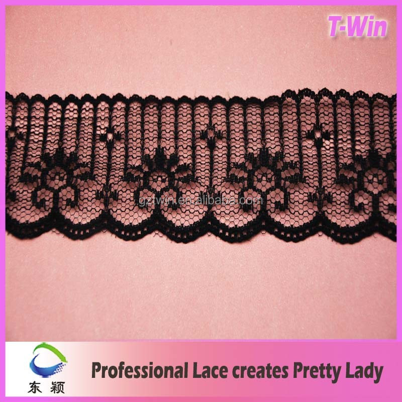 Manufacturer Fashion Lace Trim Motif/ Hot Embroidered Bridal Lace Trim/New White Stretch Lace Trim For Wedding Lace Dress