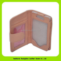 13073A leather wallet case for iphone 4