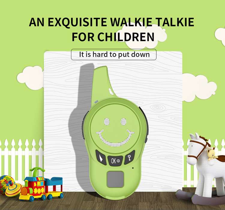 ZT07 0.5w uhf best gift walkie talkie children  mini ear Walkie Talkie Walkie handheld for Kids