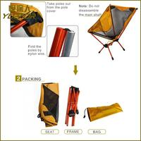 China Factory folding chairs for leisure time with carry bag