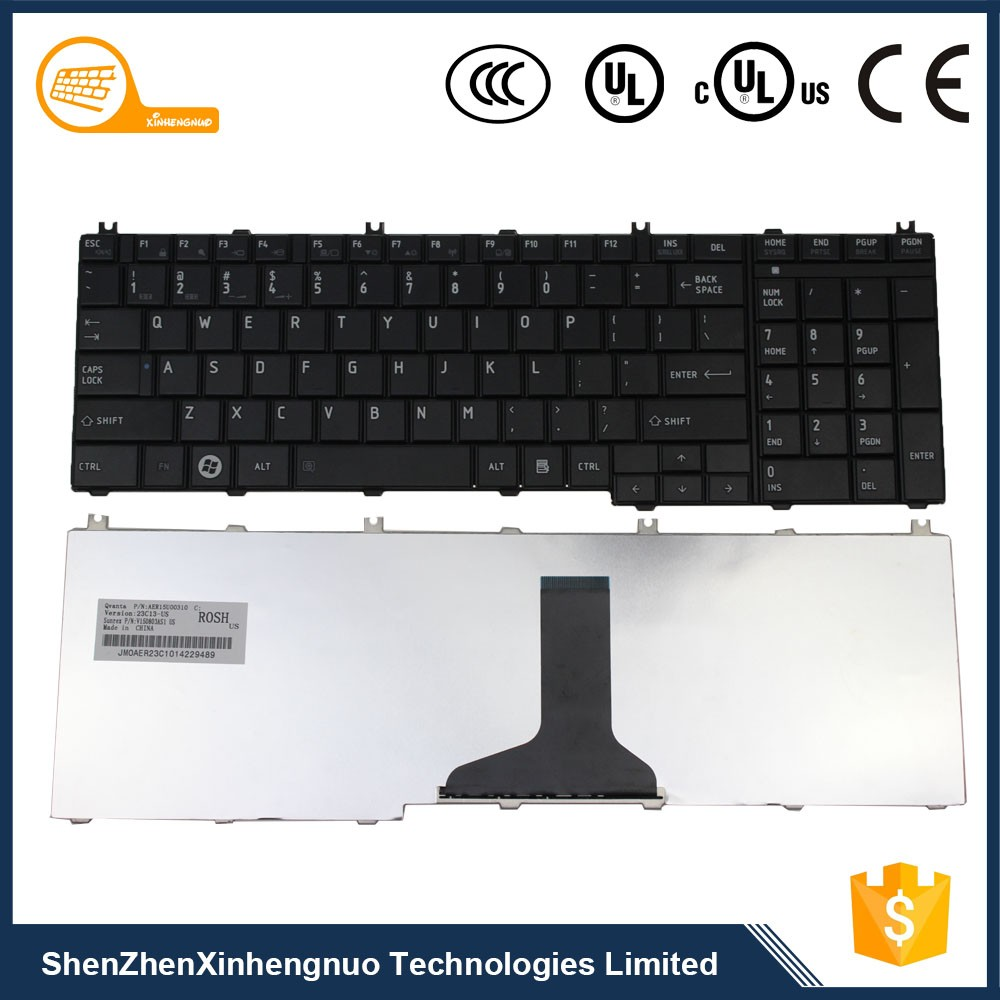 New Design Factory Price for Laptop Keyboard Toshiba Arabic with Picture