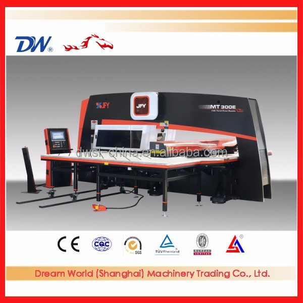 DMT-200E manufacturing cnc punching machine hydraulic punch press with Awada tools turret punching machine