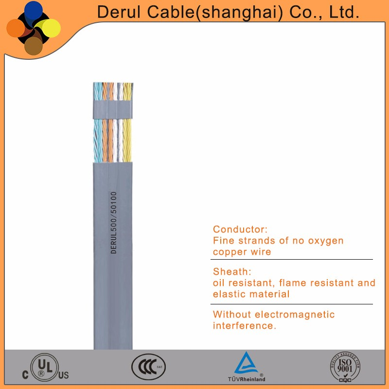 TRAGO flat ribbon electrical cable