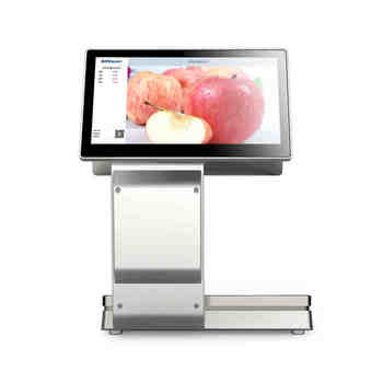 retail store all in one touch POS scale