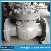 DN150 PN25 Cast Steel flange check valve for water industrial