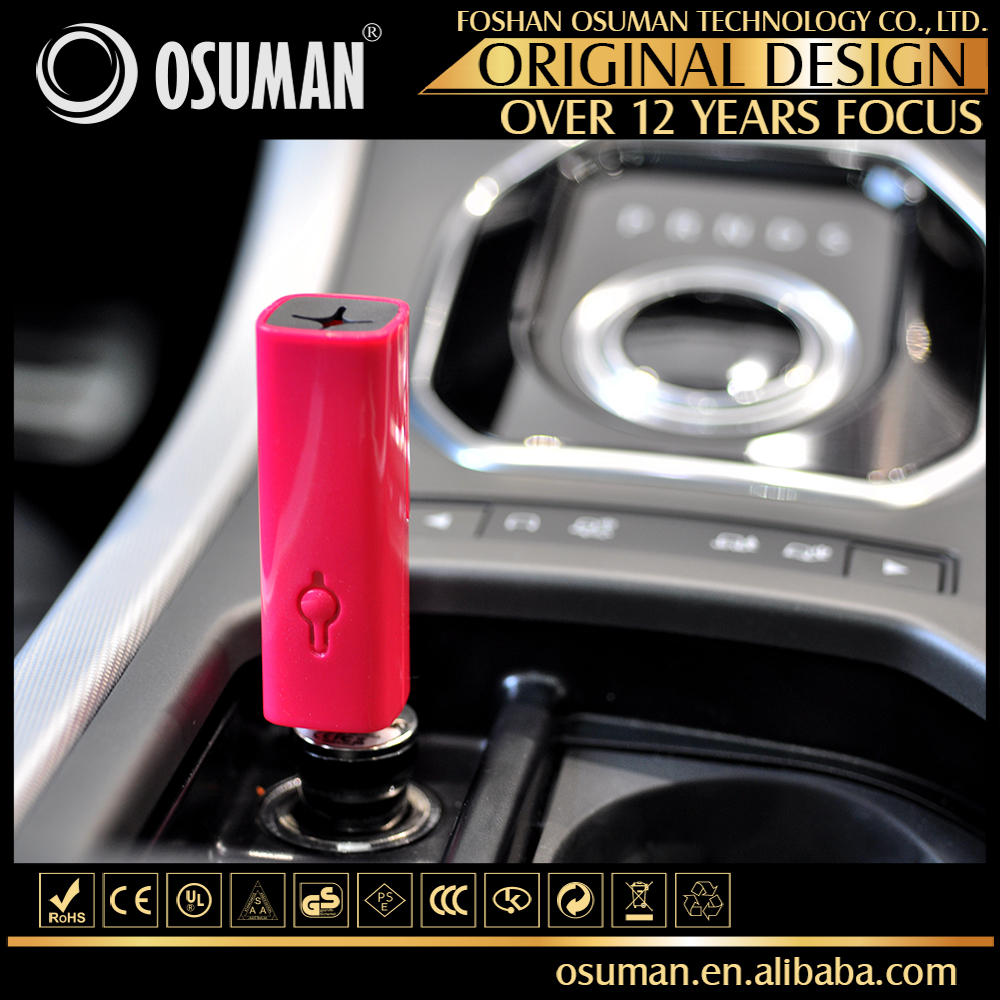 Christmas gift mini ozonizer car aroma nebulizer air purifier freshener
