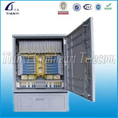 Outdoor Fiber Optic Cabinet