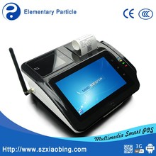 Android point of sale EP Tech M680 with NFC/WIFI/3G/RFID/Printer/Fingerprint Identifier/Free SDK